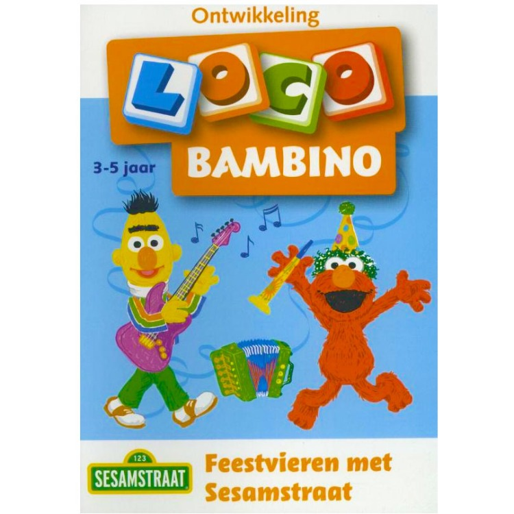 Image of Feestvieren met Sesamstraat Loco Bambino