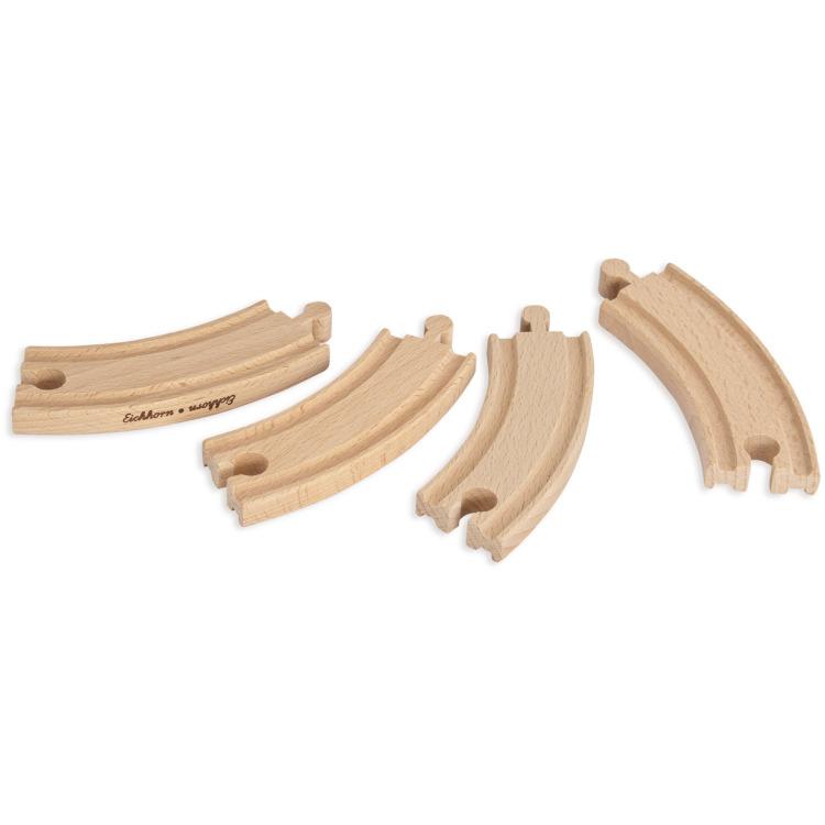 Image of 4 Stuks Gebogen Rails