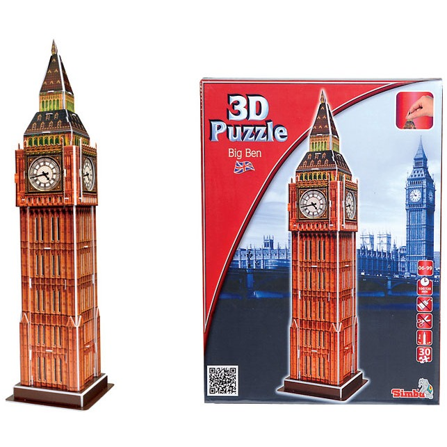 Image of 3D Puzzel Big Ben