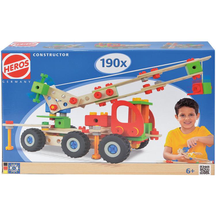 HEROS Constructor 190-delig