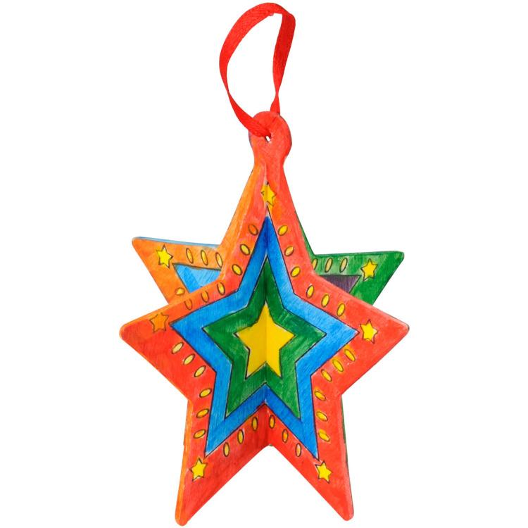Image of 3D Kersthanger Ster