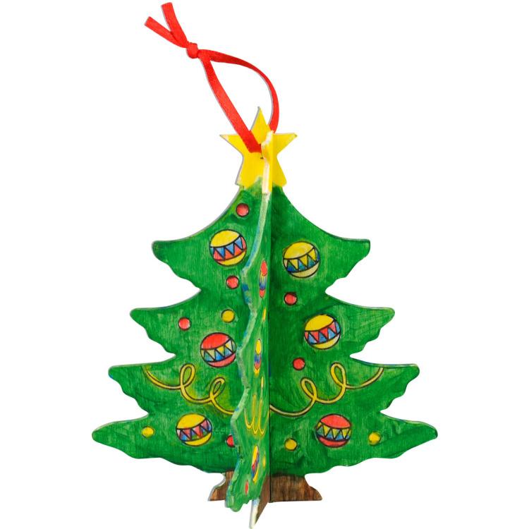 Image of 3D Kerstboom