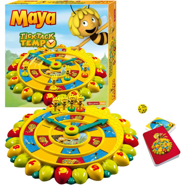 Maya de Bij Tick Tack Tempo - Bordspel