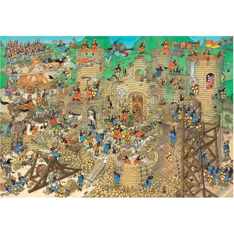 Jan van Haasteren Middeleeuwen 2000