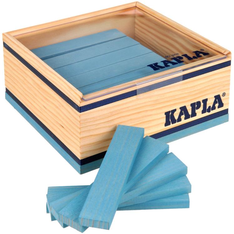 Kapla 40 stuks lichtblauw in kist