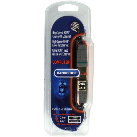 Hdmi Hogesnelheidskabel Met Ethernet 2.00 M