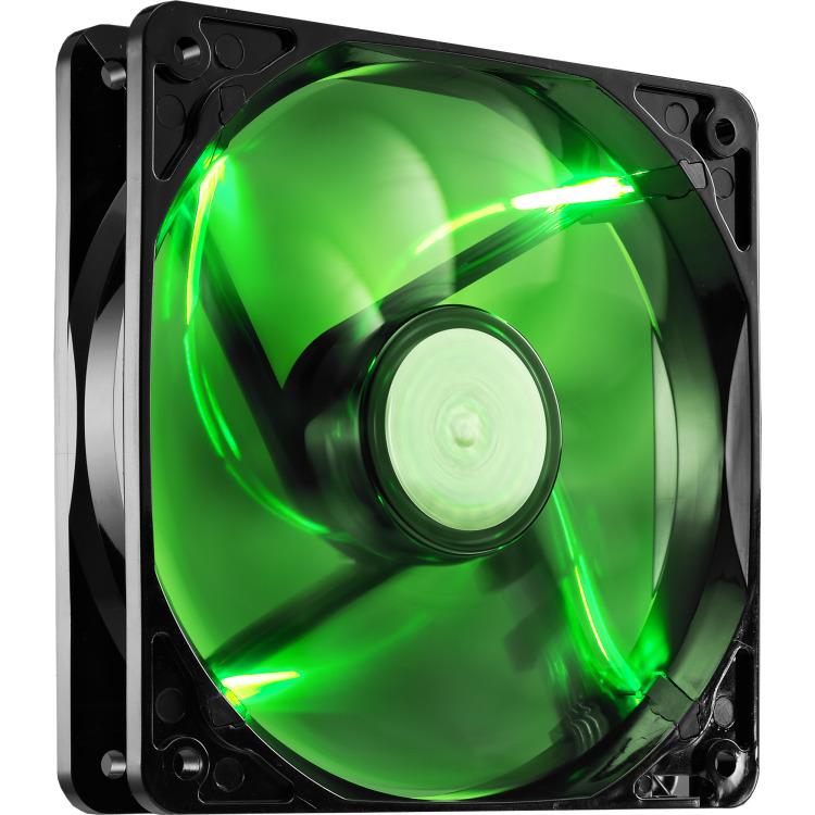 Image of Cooler Master Casefan Sickleflow 120mm, Groene LED