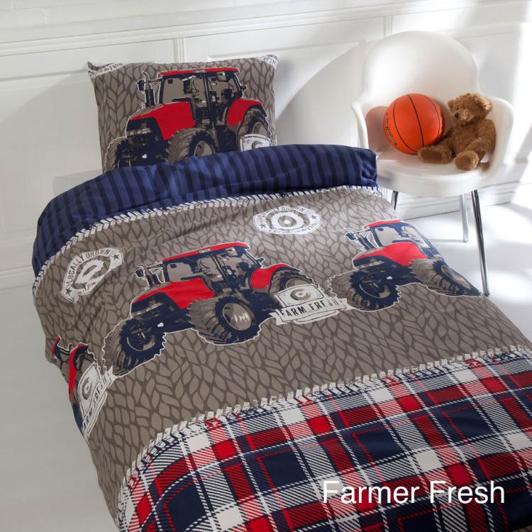 Day Dream Farmer Fresh dekbedovertrek - Multi - 1-persoons (140x200 cm + 1 sloop)