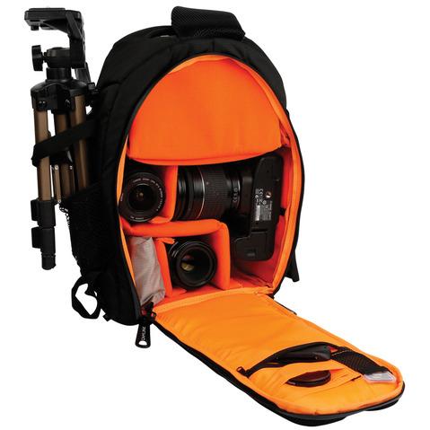Image of Camera Sling Bag 200 X 330 X 125 Mm Zwart/Oranje