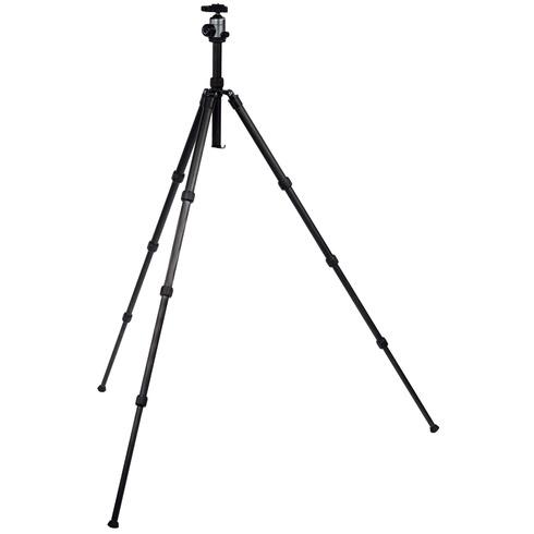 Image of Camera/Video Statief Balhoofd 134 Cm Zwart