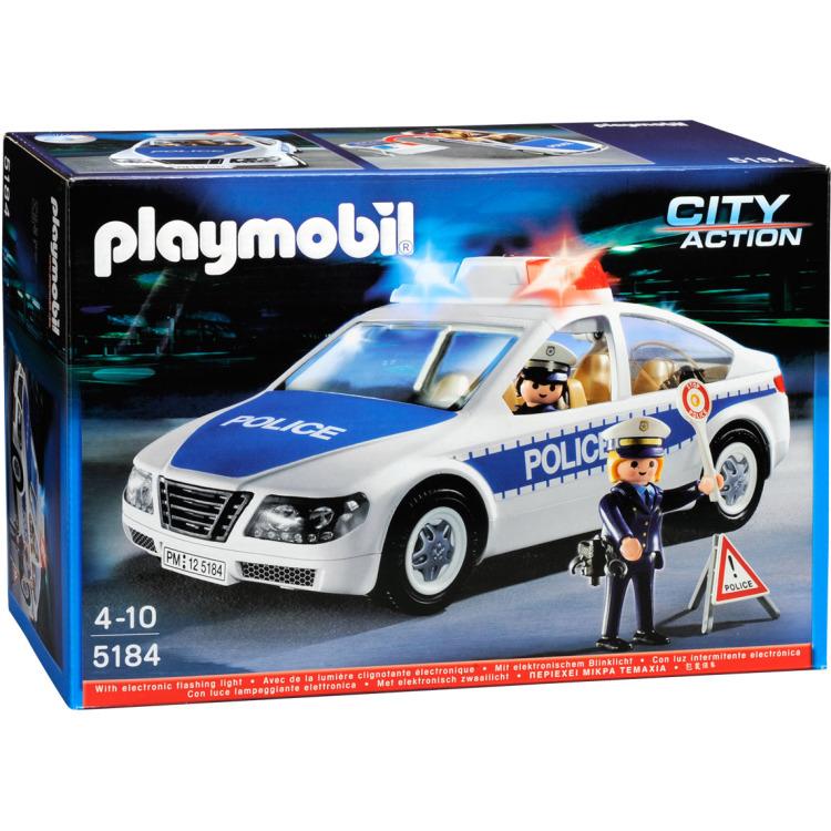 5184 Politiepatrouille met zwaailicht