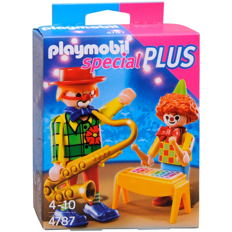 Playmobil Muzikale Clowns 4787