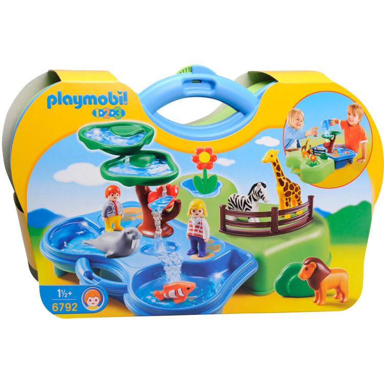 6792 Meeneem dierentuin met waterpartij