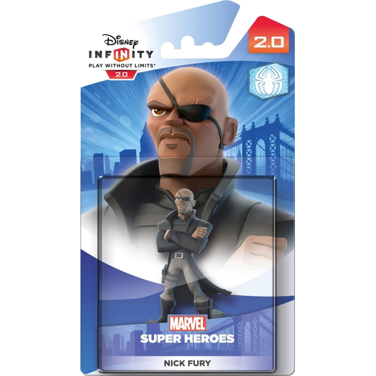Image of Disney - Disney Infinity 2.0 Nick Fury Collectible Figure (IQAV000063)
