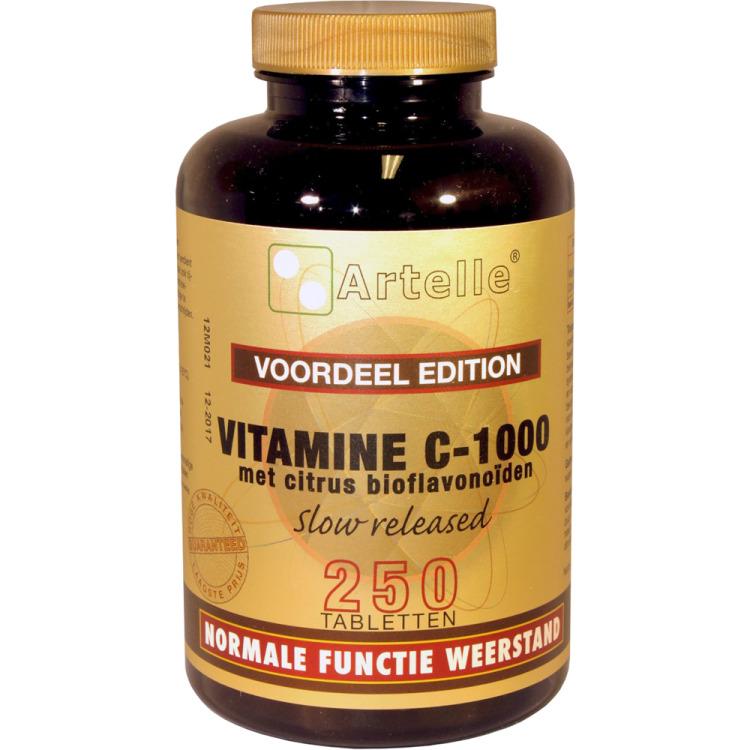 Image of Vitamine C-1000 Met Bioflavonoïden, 250 Tabletten