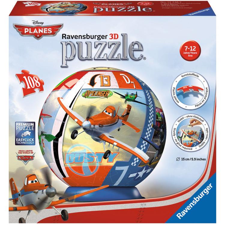 Ravensburger Disney Planes puzzleball 108 stukjes