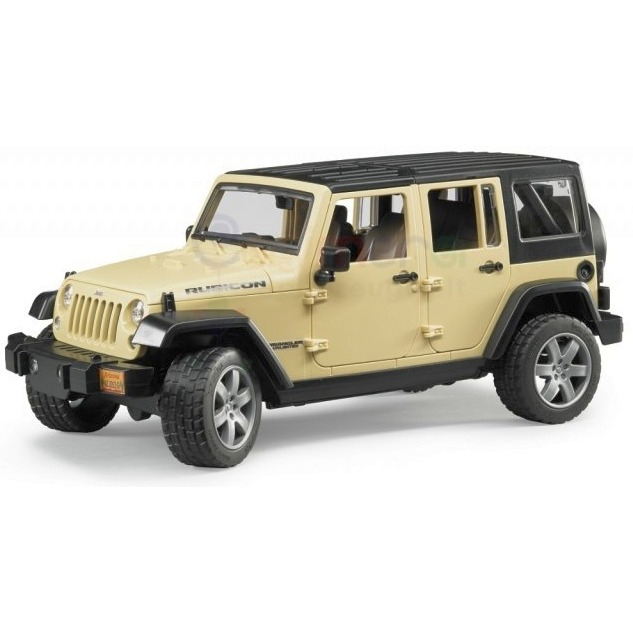 Image of Bruder - jeep wrangler unlimited rubicon