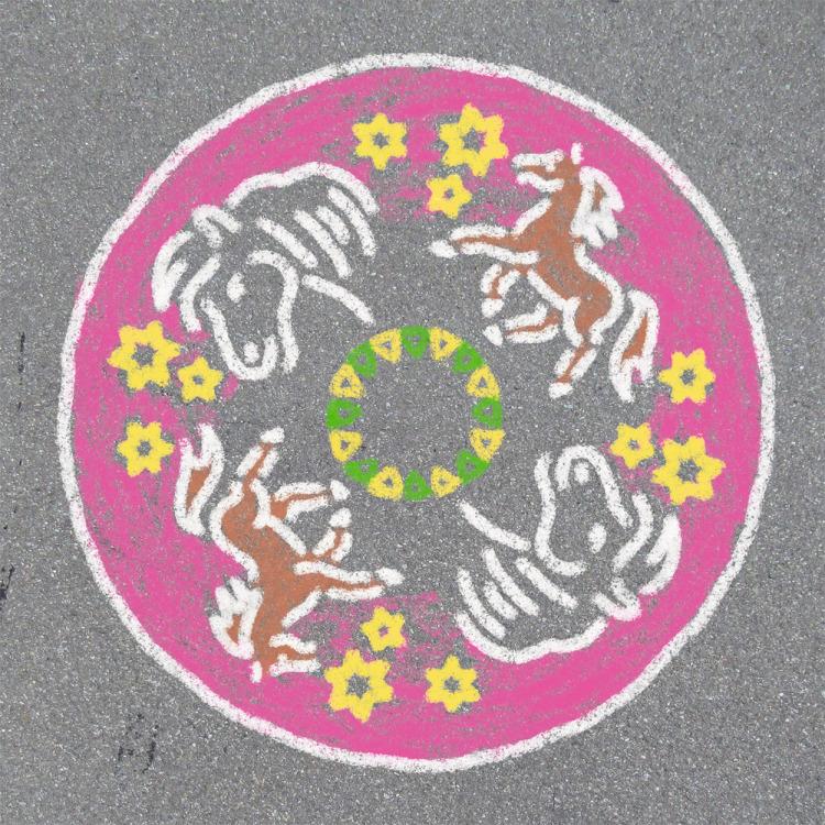 Ravensburger Outdoor Mandala-Designer - Paarden