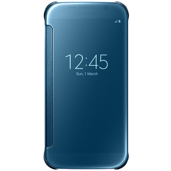 Samsung Galaxy S6 Clear View Cover Blauw