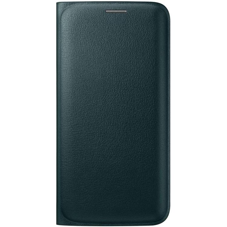 Samsung Galaxy S6 edge Flip Wallet Groen