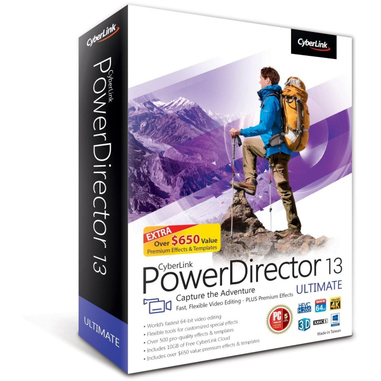 Image of Cyberlink PowerDirector 13 Ultimate