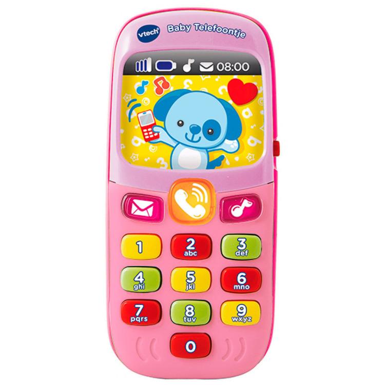 Image of Baby Telefoontje Roze