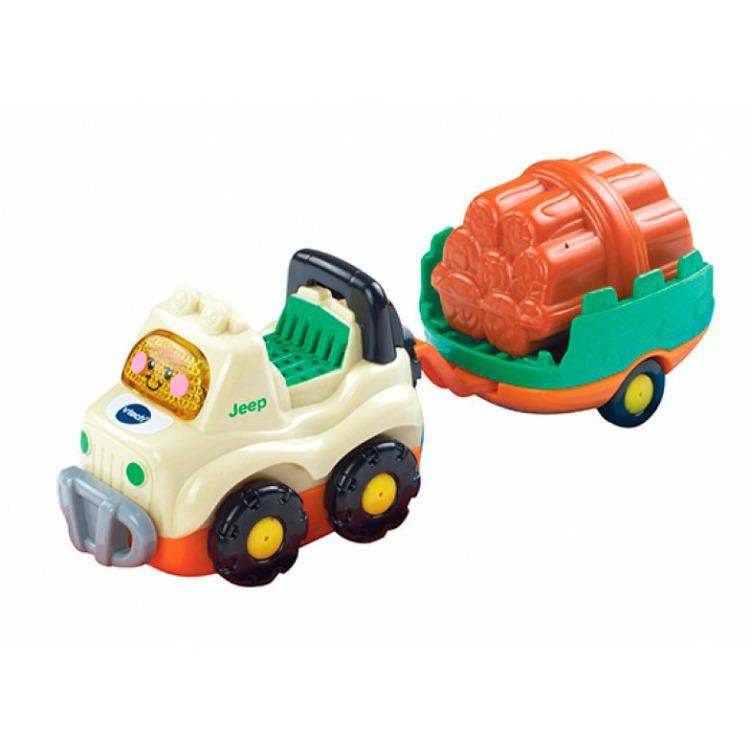 Image of Toet Toet Auto's Jimmy Jeep En Aanhanger