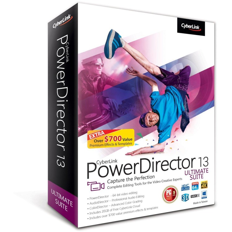 Image of Cyberlink PowerDirector 13 Ultimate Suite