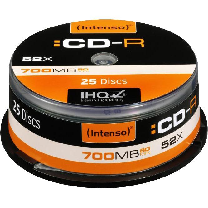 Intenso CD-R 700Mb 52x spindel (25)
