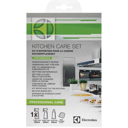 E6KK4102 Kitchen Care set (Steelcare spray, ovencare cream, Frigocare spray, cleaning cloth)