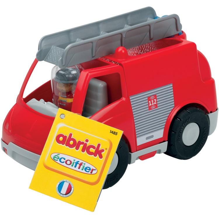 Image of Abrick Brandweerwagen Met Blokken