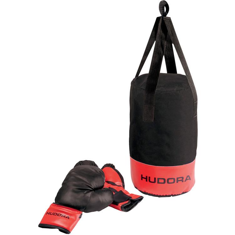 Hudora Boksset Met Handschoenen Stuk
