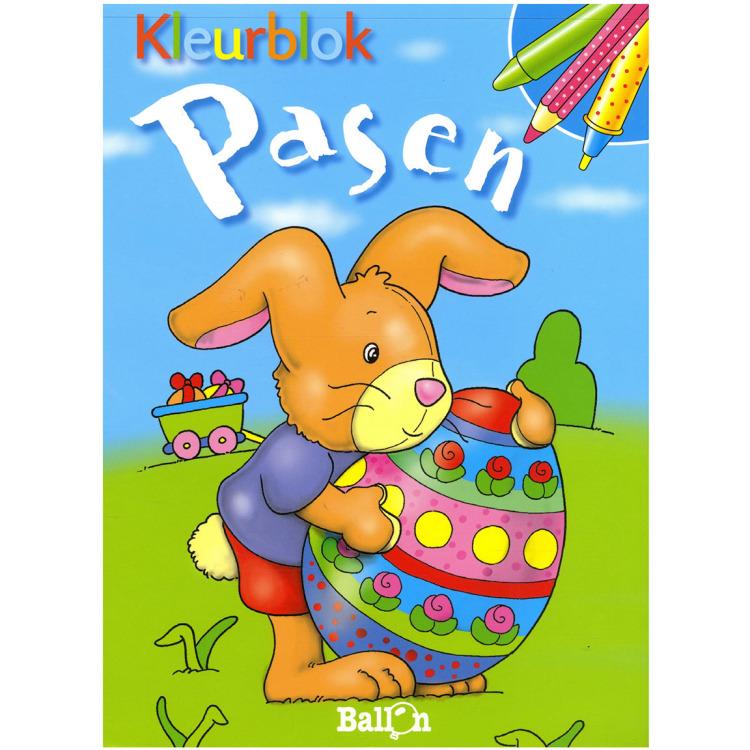 Image of Pasen Kleurblok