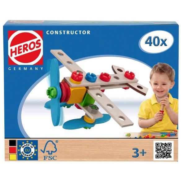 Constructor Vliegtuig  40-delig