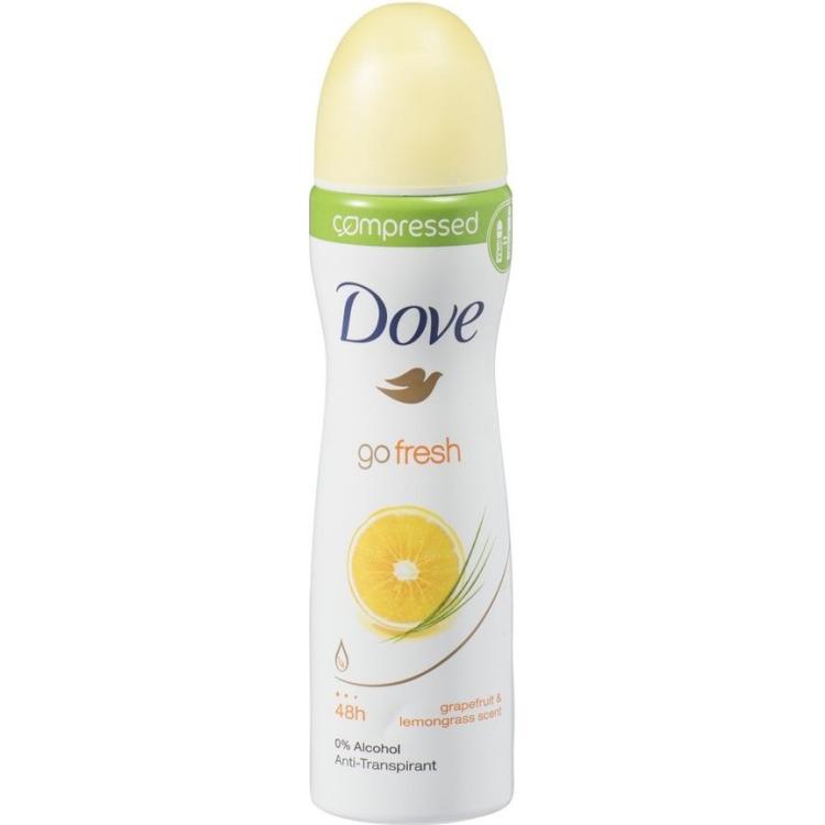 Image of Go Fresh Energise Compressed Deodorant Spray, 75 Ml
