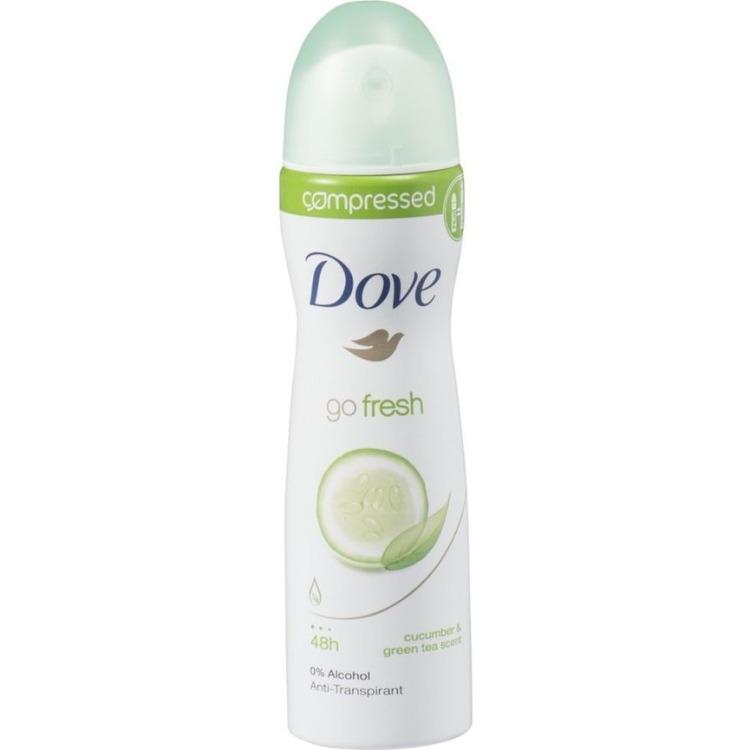 Image of Go Fresh Fresh Touch Compressed Deodorant Spray, 75 Ml