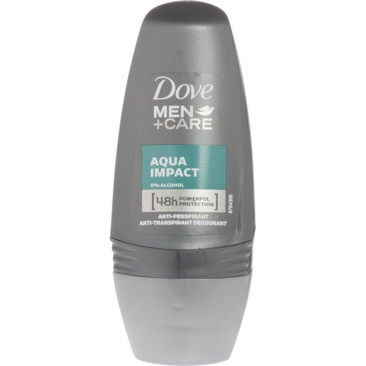 Image of Men+Care Aqua Impact Roll-on Deodorant, 50 Ml