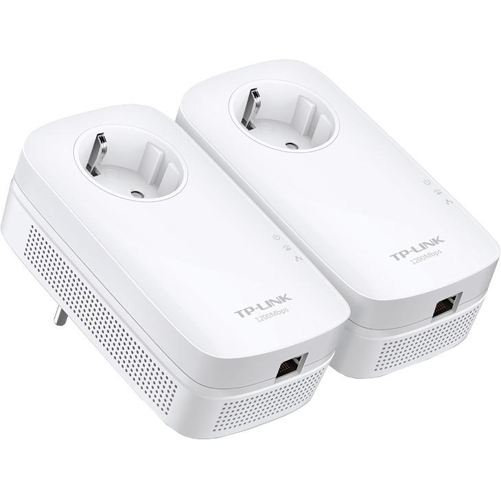 TP-LINK TL-PA8010P - AV1200 Powerline adapter starterkit - 1200 Mbps