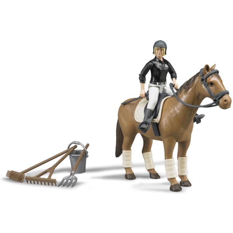 Image of Bruder - figurenset paardrijden
