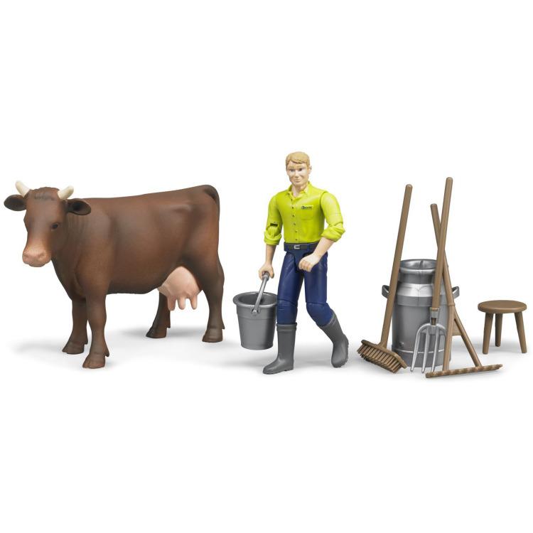 Image of Bruder - figurenset landbouw