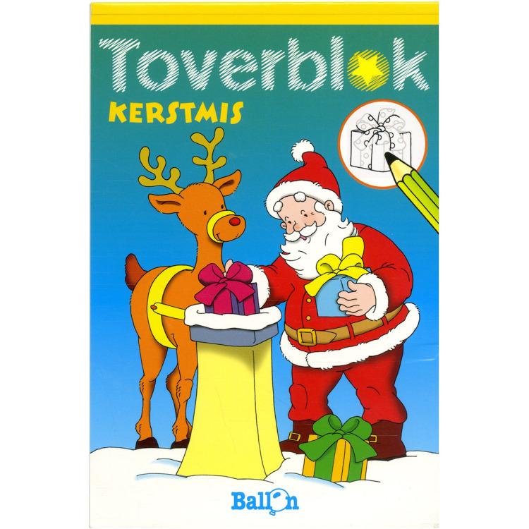 Image of Toverblok Kerstmis