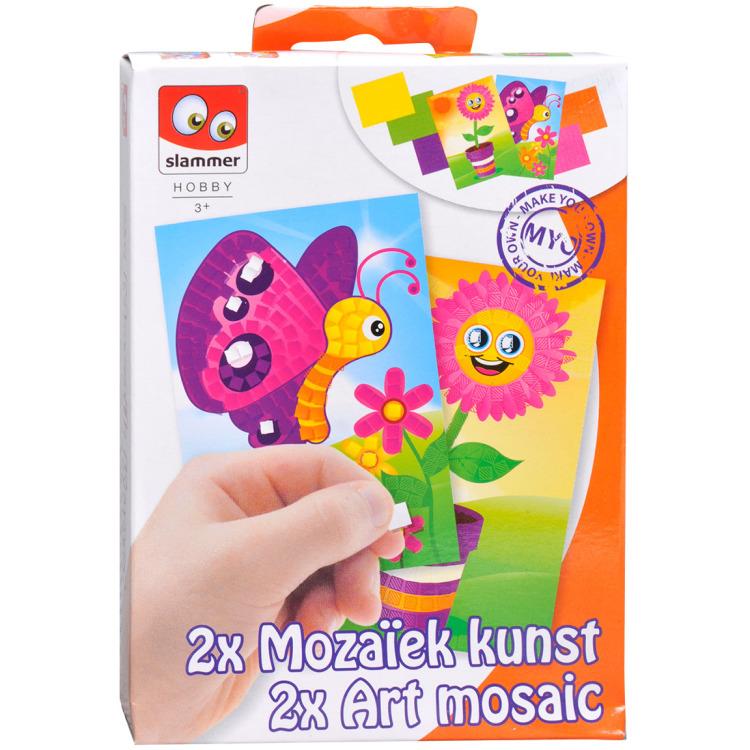 Image of 2x Mozaïek kunst