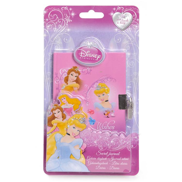 Princess Dagboek met Slot - Roze