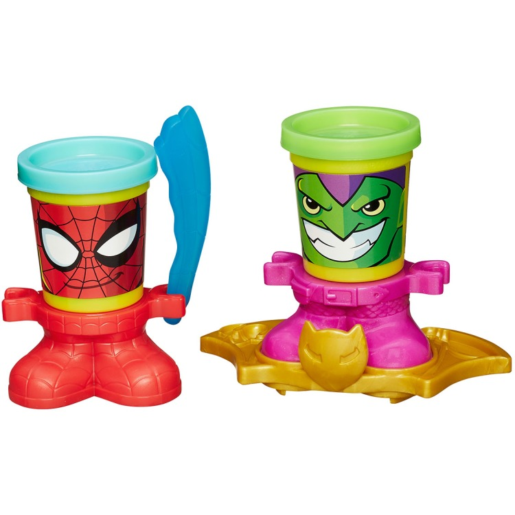 Play-Doh Marvel potjes