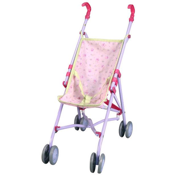 Roze Buggy Voor Poppen Stuk
