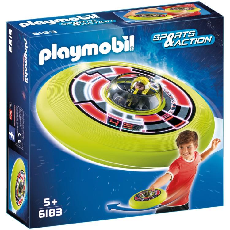 6183 Playmobil Vliegende Schotel met Astronaut