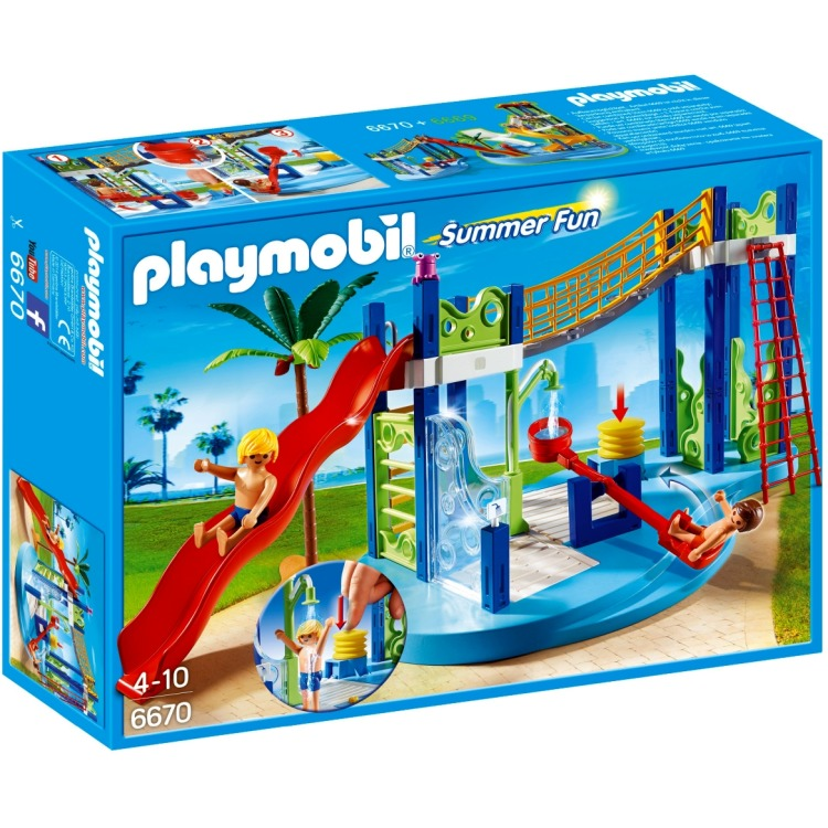 Playmobil Summer Fun waterspeeltuin 6670