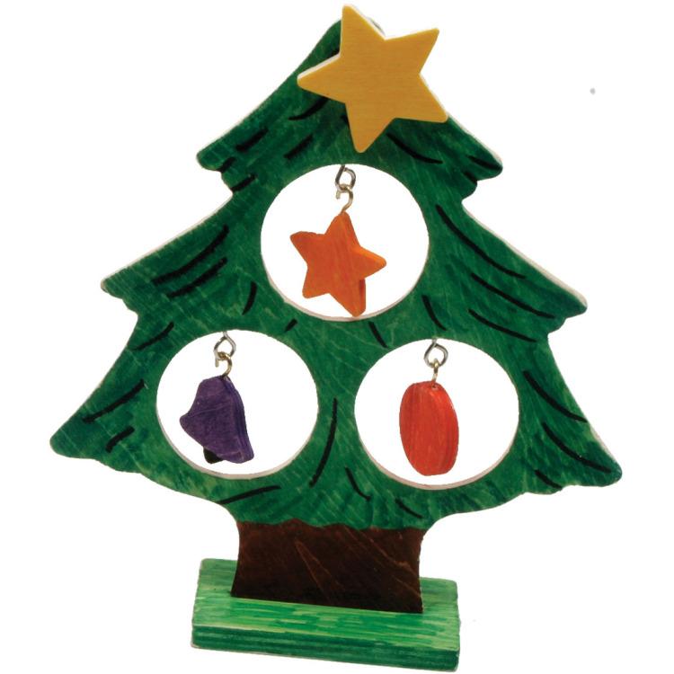 Image of Kleur Je Eigen Kerstboom Met Kerstb