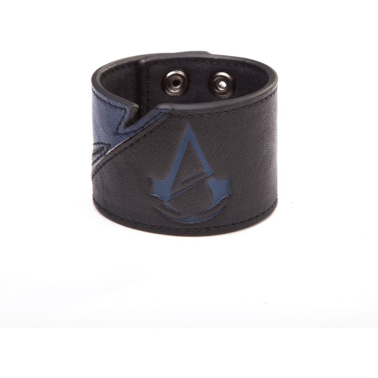 Assassin's Creed Unity Classic Crest Logo Leather Finish Wristband