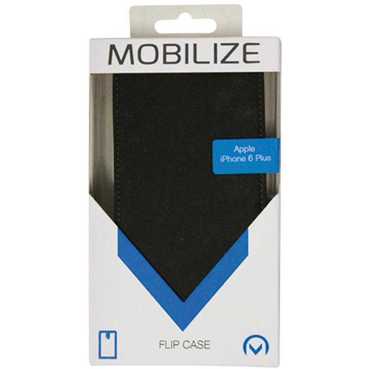 Mobilize Ultra Slim Flip Case Apple iPhone 6 Plus Zwart